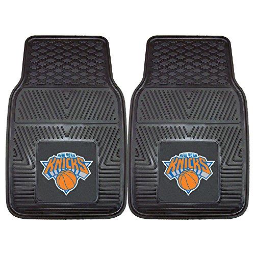 Fanmats 9358 NBA-New York Knicks Vinyl Universal Heavy Duty Fan Floor Mat