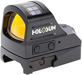 HOLOSUN HE507C-GR Elite 1x, 2 MOA Reticle, Green Dot Sight, Black,