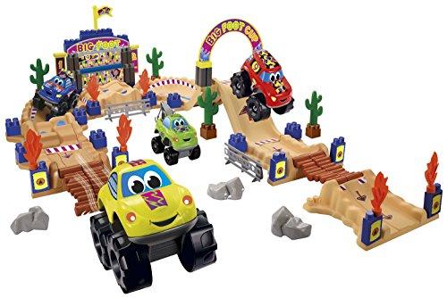Jouets Ecoiffier – 3034 - Circuit Big Foot Abrick – Jeu de construction pour enfants – Dès 18 mois – Fabriqué en France