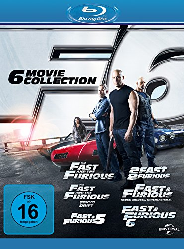 Fast & Furious - The Collection 1-6
