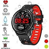 Smartwatch, Kivors Reloj Inteligente IP68 Impermeable Bluetooth SmartWatch con Múltiples Modos de Deportes, Fitness Tracker, Monitor de Dormir, Notificación de Llamada y Mensaje para Android e iOS