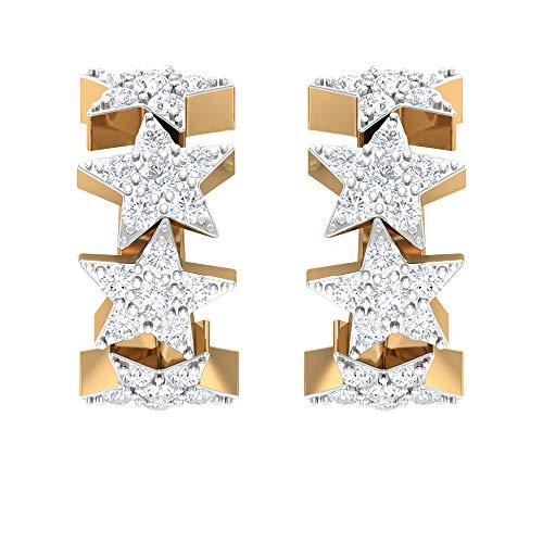 orecchini stella pandora