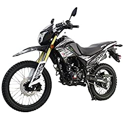 X-Pro Hawk DLX 250 EFI Dirt Bike Motorcycle Bike Hawk 250 DLX Dirt Bike Street Bike Motorcycle