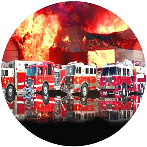 FONDANT Tortenaufleger Tortendeko Geburtstag Feuerwehr T12