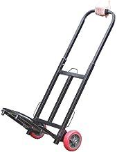 WYKDL Travel Folding Multi-Use Cart Portable Folding Aluminum Hand Truck Iron Heavy Duty Hand Cart Hand Cart With Wheels