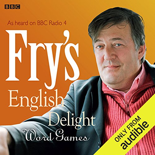Fry's English Delight: Word Games audiobook cover art