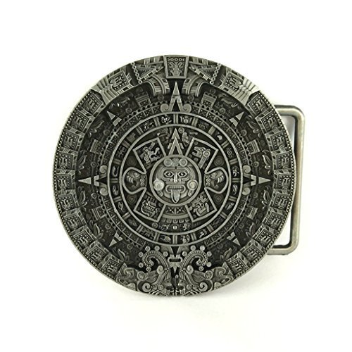 Belt Buckle - Aztec Calendar