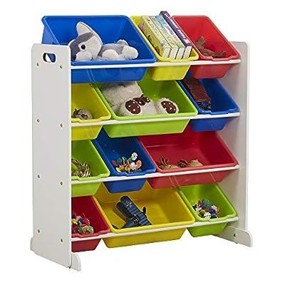 Teeker Kids' Toy Storage Organizer with 12 ...