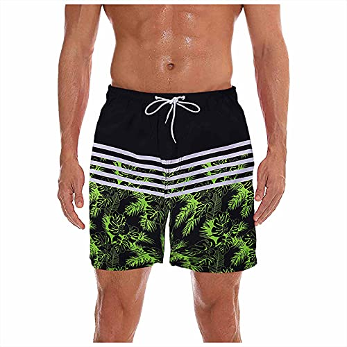 TWIOIOVE Swim Shorts Bañador Hombre Pantalones Cortos de Baño Shorts de Playa Traje de Baño para Natación Secado Rápido para Vacaciones Negro, verde, verde menta, naranja, rojo M-XXXL
