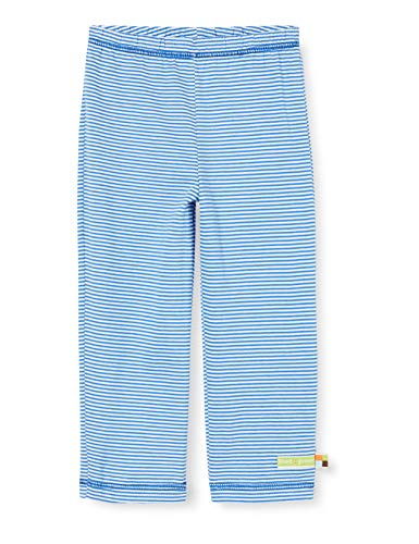 Loud + Proud Light Striped Pant Organic Cotton Pantalon, Bleu (Cobalt COB), 86/92 Bébé garçon