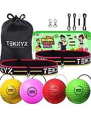 TEKXYZ Pelota De Reflejos De Boxeo Paquete Familiar PYRG | TEKXYZ Boxing Reflex Ball Family Pack PYRG