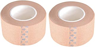 FRCOLOR A2pcs Onzichtbare Ooglid Tape Dubbele Ooglid Tape Huidskleur Non-Woven Stoffen Tape Sel Zelfklevende Bandage Vinge...