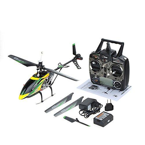 GoolRC Helicóptero Original Wltoys V912 Grande de 4 Canales de una Sola Hoja RC (helicóptero Wltoys V912; helicóptero de 4 Canales de una Sola Hoja)