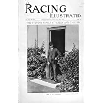 1896の競馬のスポーツのスティーヴンスCypria Gottschalkのイチイ材の旧式な印刷物
