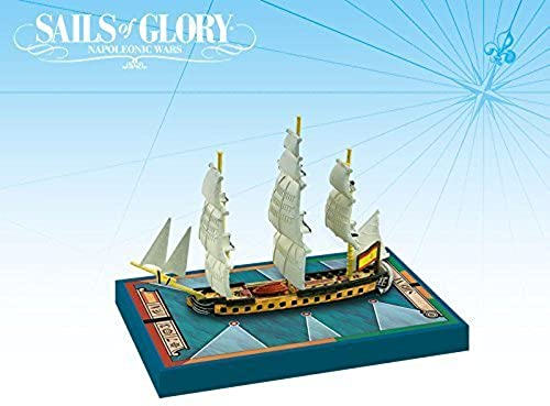 Ares Games Sails of Glory Ship Pack - Sirena 1793 Board Game by