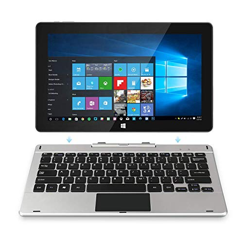 Jumper EZpad 6 Pro 2in1 Laptop Touchscreen 11.6' Full HD, CPU Atom E3950/1.6 GHz Quad Core Processor, 6GB RAM, 64GB Storage, Windows 10, Supports 128GB tf-card