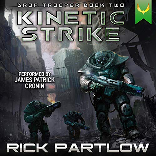 Kinetic Strike Audiobook By Rick Partlow cover art