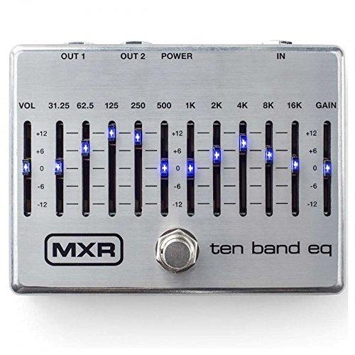 MXR 10-Band EQ Silver Guitars Effects Pedal M108S