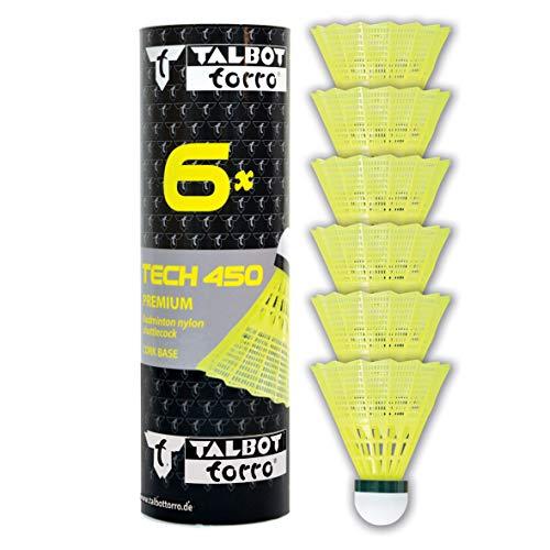 Talbot Torro Tech 450 Volante Badminton, Verde/Lento