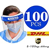 100Pcs face Shield Medical FDA Approved  (Get it with in 7 Days)