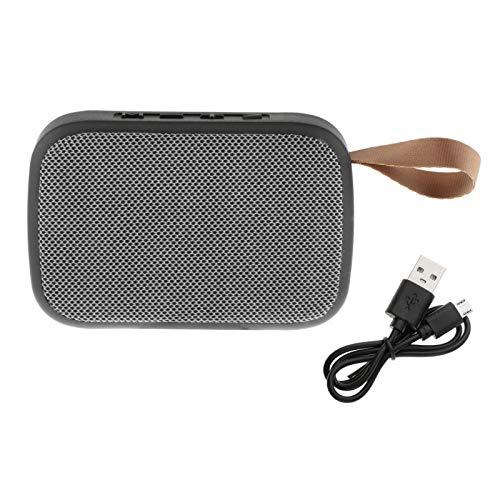 prasku Altavoz Bluetooth Inalámbrico Recargable Portátil USB/TF Al Aire Libre Estéreo Al Aire Libre - Gris