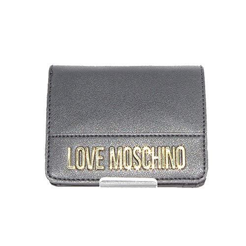 Love Moschino Portafoglio piccolo da donna ecopelle di colore nero con tasche interne. JC5628PP0. BIOSABORSE