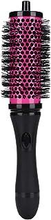 Cepillo de aire caliente Peine redondo para rizar el cabello para alisar el rizado Salón de iones negativos Cerámica Secadores de pelo livianos Plancha de pelo Cepillo de pelo rizado