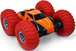 Taylor Toy Tough N' Tumble 1:10 RC Remote Control Car - Tough Terrain Full 360 Tumbling Stunt Car with 10
