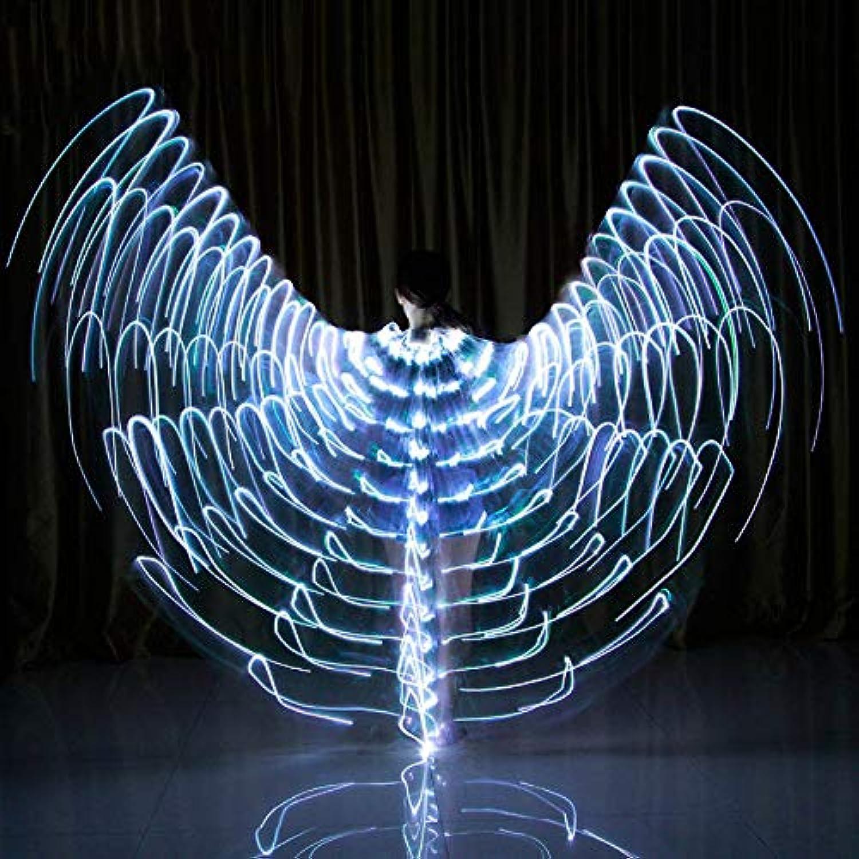 Soulitem Tanz LED Flügel Leuchten Halloween Kostüme Bühnenperformance Kleidung für Erwachsene B07JMS8JT5  Moderne und stilvolle Mode     | Creative