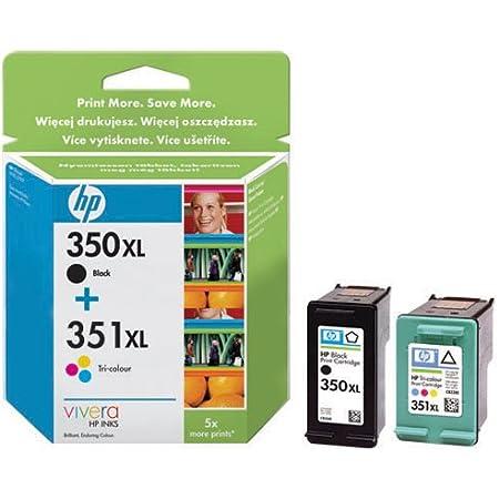 Hewlett Packard Tintenpatronen Nr 350xl 351xl Multipack Bürobedarf Schreibwaren