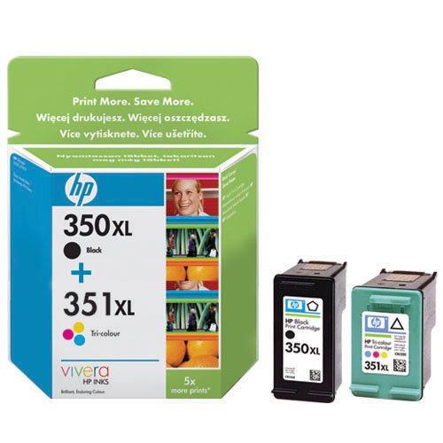 Hewlett-Packard Tintenpatronen Nr. 350XL/351XL Multipack