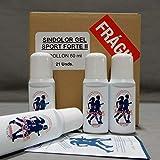 Sindólor Gel Sport Forte II en Rollon 60 ml, Efecto Inmediato. Pack Super Ahorro 21 Unidades
