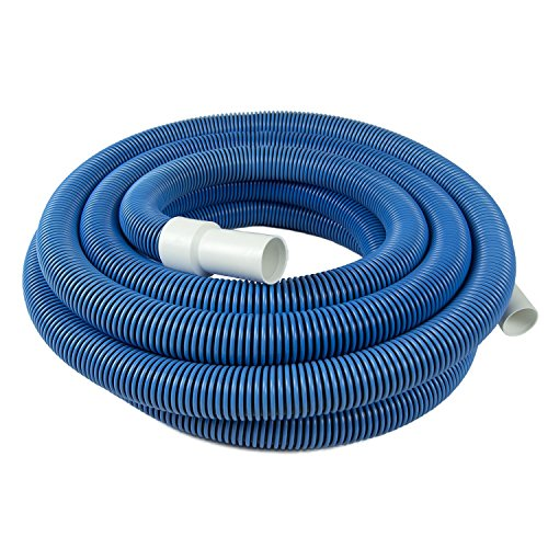 Poolmaster 33430 Heavy Duty In-Ground Pool Vacuum Hose With Swivel Cuff, 1-1/2-Inch by 30-Feet,Neutral