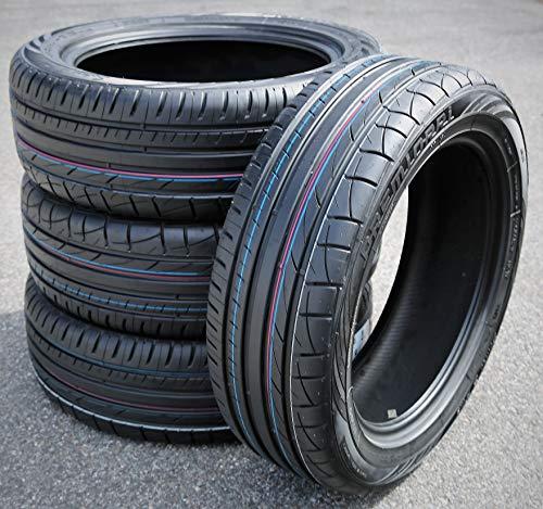Set of 4 (FOUR) Premiorri Solazo S Plus Summer Performance Radial Tires-235/55R18 235/55/18 235/55-18 100V Load Range SL 4-Ply BSW Black Side Wall