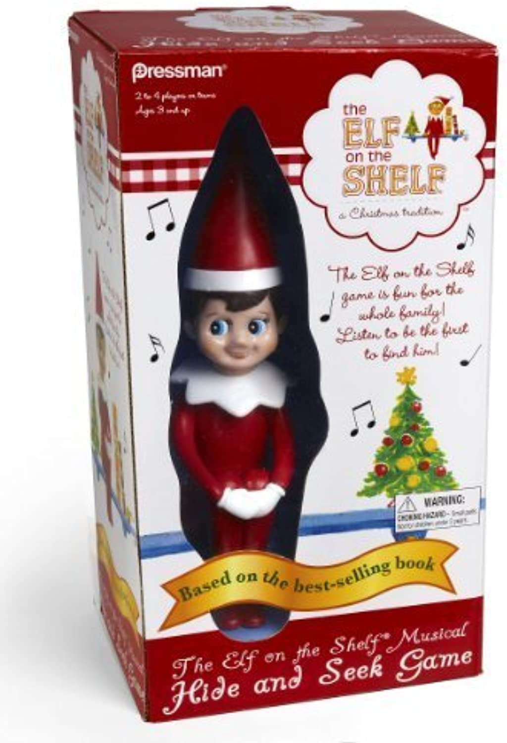 Elf on The Shelf Hide and Seek Game by Pressman Toys [Toy]