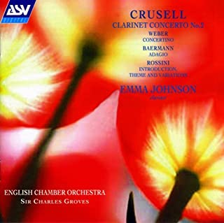 Crusell : Clarinet Concerto No.2 / Weber : Concerto For Clarinet & Strings (1993-09-07)