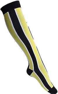 YiyiLai Stretchy Knee High Running Athletic Nurse Compression Socks