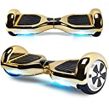 TOEU Overboard Hover Scooter Board Gyropode Bluetooth 6.5 Pouces, Scooter Electrique...