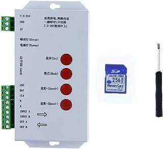 ALITOVE T1000S WS2812B WS2811 WS2813 RGB LED Controller Configurable SPI SD Card WS2801 WS2803 LP6803 8806 1903 1809 1812 DC5V 12V-24V