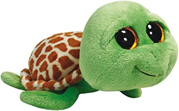 Ty Beanie Boos Zippy Green Turtle Plush