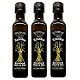 Holy Smoke Smoked Extra Virgin Olive Oil 8.5 Fl. Oz. - 3 Pack
