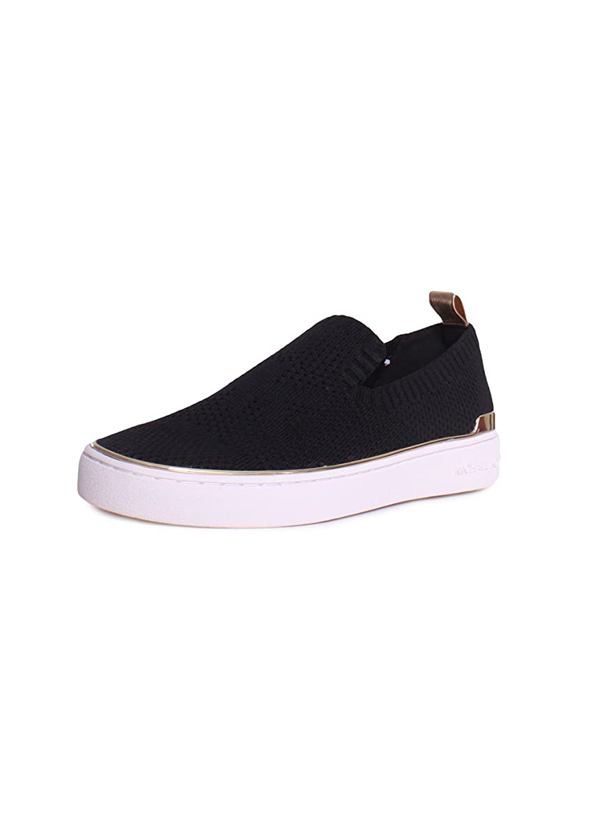インチ悪行置くためにパック[MICHAEL KORS] Women's Skyler Slip On Ankle-High Fabric Slip-On Shoes