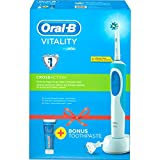 Braun   Oral-B Cepillo Dientes Oral-B D12.513 CrossAction + Pasta de Dientes