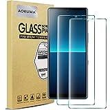 AOKUMA Cristal Templado Sony Xperia L4, [2 Unidades] Protector Pantalla para Sony Xperia L4 Robusto Antiarañazos Antihuellas con Borde Redondeado Dureza 9H+ Antiburbujas