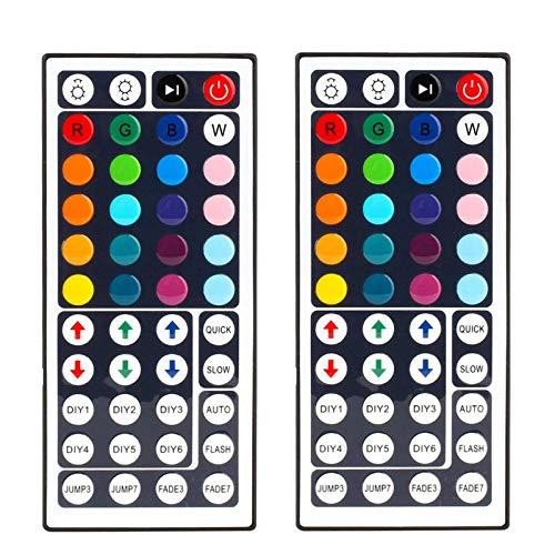 44 Key RGB LED Strip Light Remote Controller Wireless Dimmer IR Remote Control, for SMD 5050 3528 2835 RGB LED Light Strip