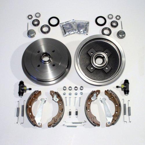 Bremstrommel/Bremsen Set hinten