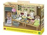 Sylvanian Families School Lunch Set Mini muñecas y Accesorios, Multicolor (Epoch 5108) , Modelos/colores Surtidos, 1 Unidad