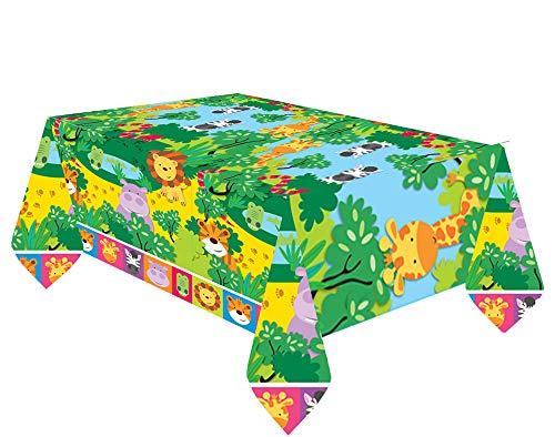 Amscan International 571609/1,37/x 2,43/m DC Super H/éros Filles Housse de Table en Plastique