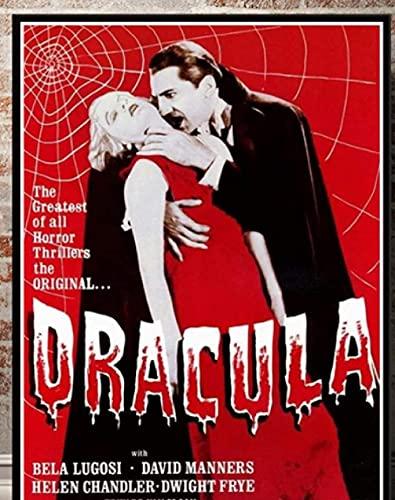shjklb Puzzle 1000 Pezzi Film Dracula Poster Carta Giocattoli per Adulti Gioco di decompressione (38x26 cm)