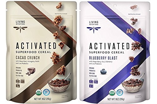 Best living intentions blueberry blast activated superfood cereal for 2020